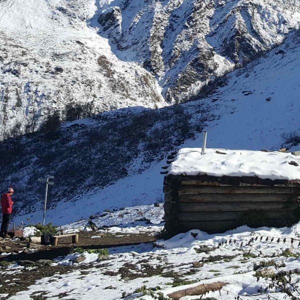 karaviberghutten hut